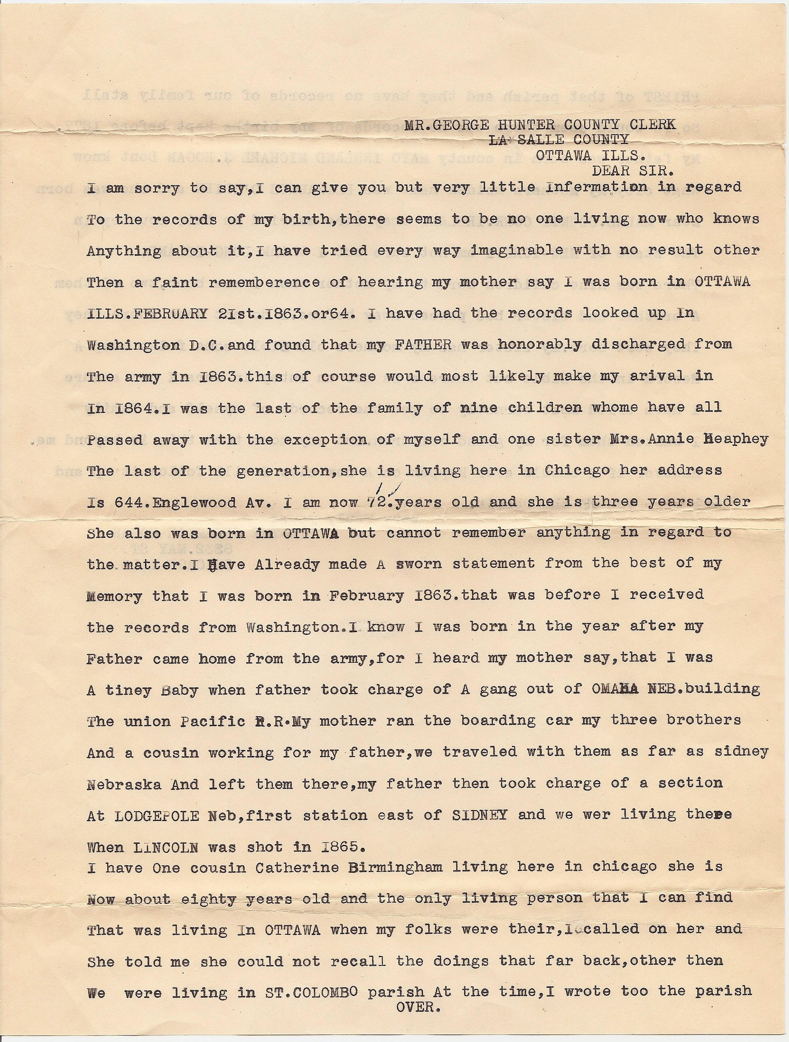 Family History Files: Tim Hogan - Infospigot: The Chronicles