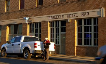 Arbuckle Hotel Bar