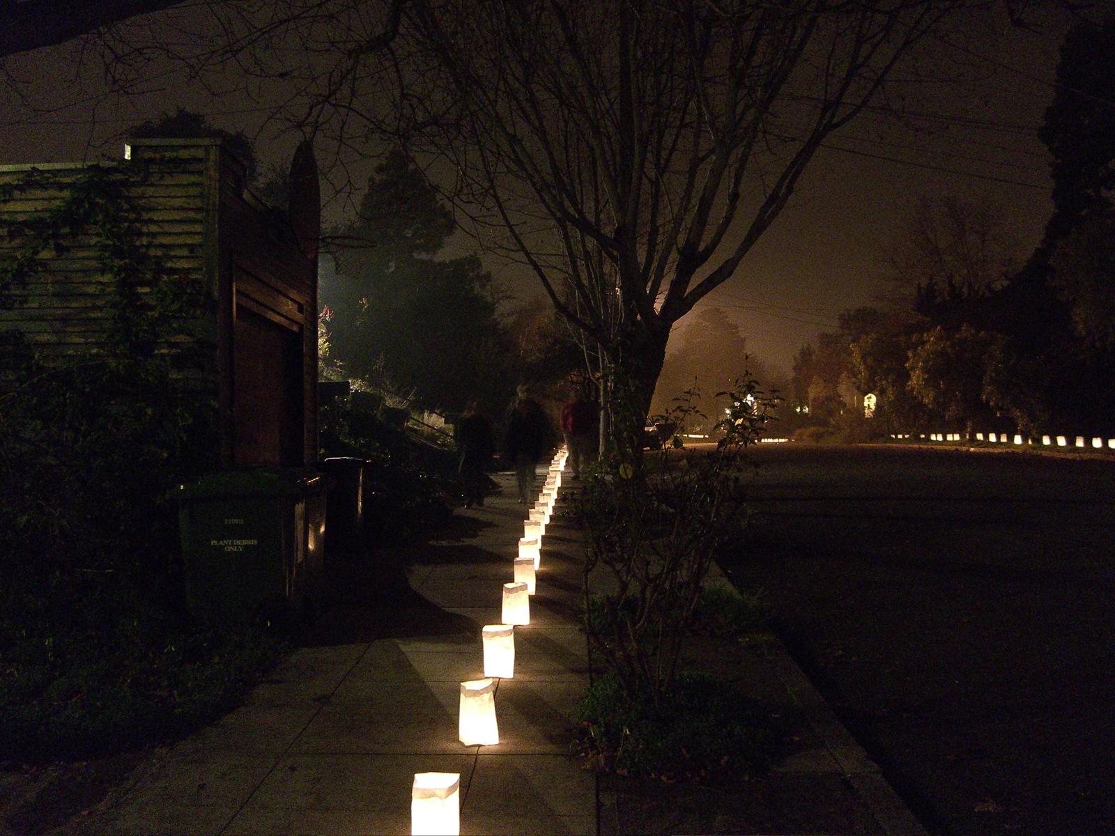 Luminaria Streets Infospigot The Chronicles - Street light map us