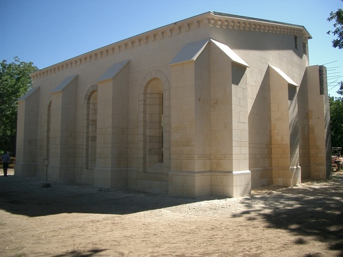 New Clairvaux Chapter House; Northeast View